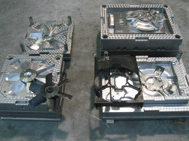 Fan and Fan Shroud moulds